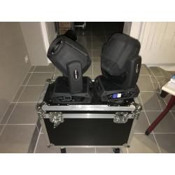 Pack 2 Lyres Beam 7R + Flight case