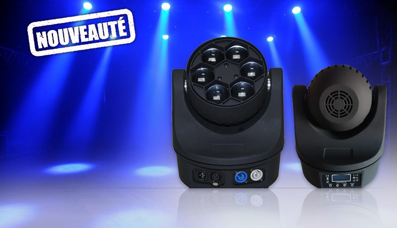 Mini B-EYE 6x15w RGBW