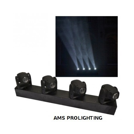 Barre lyre led pixels 4x10w White