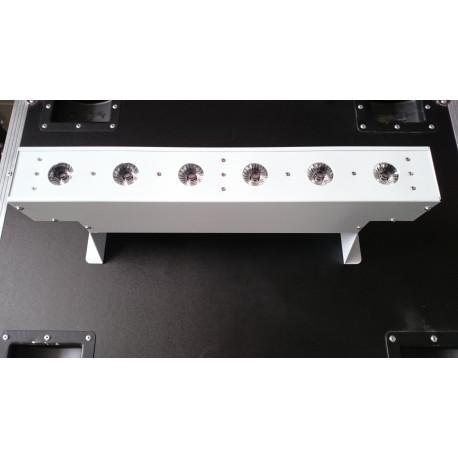 Barre Led wireless 6X18W  RGBAW + UV
