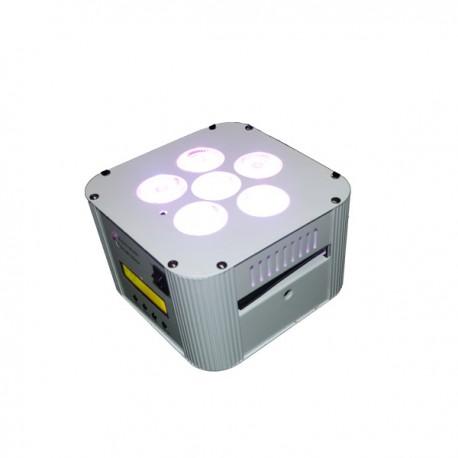 PAR Led wireless 6X18W  RGBAW + UV